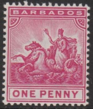 Barbados SG107