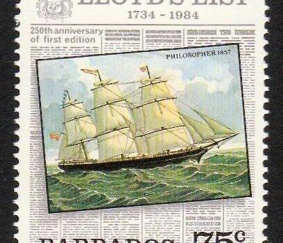 Barbados SG752