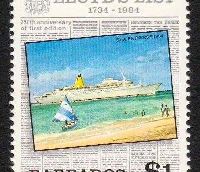 Barbados SG753