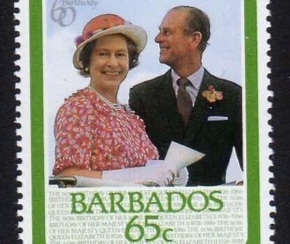 Barbados SG812