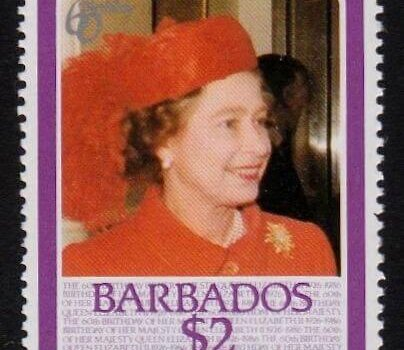 Barbados SG814