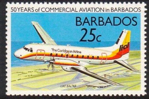 Barbados SG877