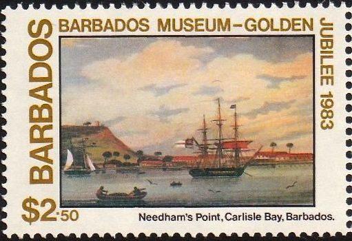 Barbados SG741