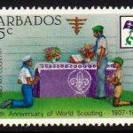 Barbados SG711