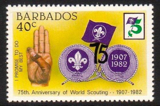 Barbados SG710