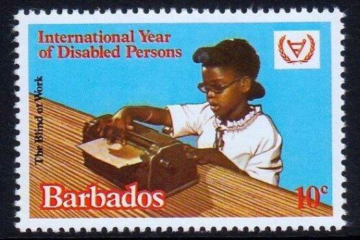Barbados SG670