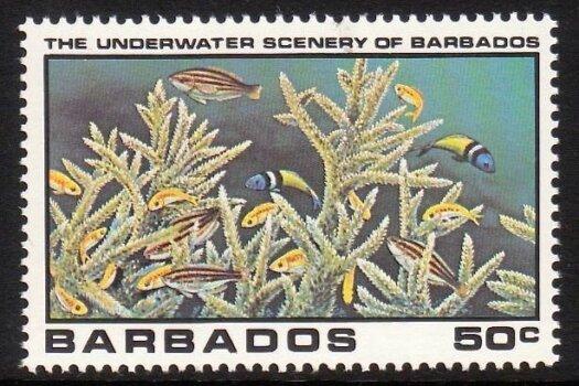 Barbados SG662