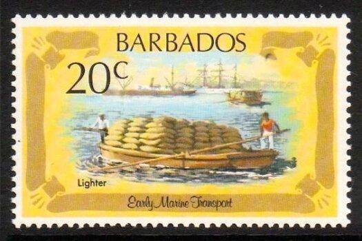 Barbados SG701