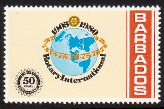 Barbados SG653
