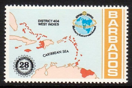 Barbados SG652