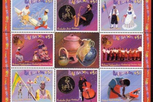 Barbados SGMS1241 | Barbados Festivals Souvenir Sheet