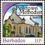 Churches of Barbados - 10c - Barbados SG1400