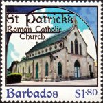 Churches of Barbados - $1.80 - Barbados SG1402
