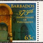 Barbados 375th Anniversary of Parliament - 65c - Barbados SG1413