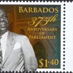 Barbados 375th Anniversary of Parliament - $1.40 - Barbados SG1414