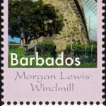 Seven Wonders of Barbados - 65c Morgan Lewis Windmill - Barbados SG1408