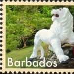 Seven Wonders of Barbados - 65c The Lion at Gun Hill - Barbados SG1410